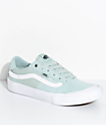 Vans Style 112 Pro Harbor Grey Teal Skate Shoes