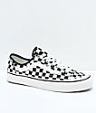 Vans Style 36 Decon SF zapatos de skate a cuadros en negro y blanco