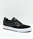 Vans Walker Pro Black & Red Skate Shoes