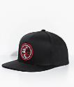 Vans X Spitfire Black Snapback Hat