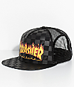 Vans X Thrasher gorra snapback en negro