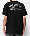 Vans x Anti-Hero On The Wire Black T-Shirt