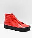 Vans x David Bowie Sk8-Hi Platform Ziggy Stardust Red Skate Shoes