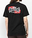 Vans x Independent Logo camiseta negra