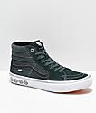 Vans x Independent Sk8-Hi Pro Spruce Green Skate Shoes