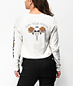 Vans x Lizzie Chrysanthemum Cream Long Sleeve T-Shirt