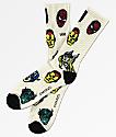 Vans x Marvel Avengers White Crew Socks