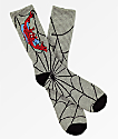Vans x Marvel Spiderman calcetines grises
