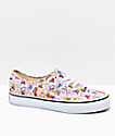 Vans x Peanuts Authentic Dance Pink & White Skate Shoes