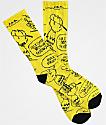 Vans x Peanuts Charlie Brown Yellow Crew Socks