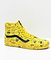 Vans x Peanuts Sk8-Hi Charlie Maize Skate Shoes