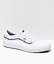 Vans x Sketchy Tank Style 112 Pro zapatos de skate reflectantes en blanco y negro
