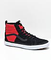Vans x The North Face Sk8-Hi MTE All Black & Red Shoes