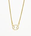 Vesso Cancer Gold Women's Necklace