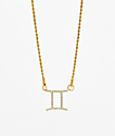 Vesso Gemini Gold Women's Necklace