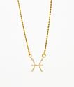 Vesso Pisces Gold Women's Necklace