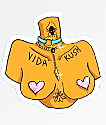 VidaKush Free The Nipple pegatina