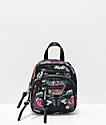 Violet Ray Kimono Black Convertible Mini Backpack