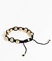 Vitaly Orbis Black & Gold Bracelet