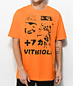 Vitriol Brainwashed Orange T-Shirt