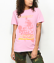 Vitriol Misery Loves Company Pink T-Shirt