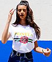 Viva La Bonita La Rosa Bonita White T-Shirt