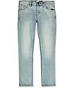 Volcom 2X4 Light Blue Skinny Jeans
