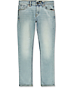 Volcom 2X4 skinny jeans en azul claro