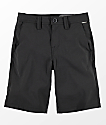 Volcom Boys Frickin Static Black Hybrid Shorts