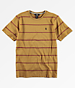 Volcom Boys Randall Gold & Red T-Shirt