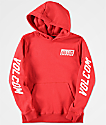 Volcom Boys Supply Stone Red Hoodie