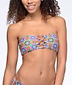 Volcom Current State Bandeau Bikini Top