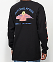 Volcom Dooby Tron Black Long Sleeve T-Shirt