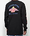 Volcom Dooby Tron camiseta negra de manga larga