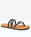 Volcom Easy Breezy sandalias negras