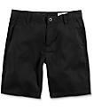 Volcom Frickin Drifter Black Chino Shorts