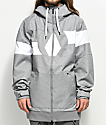 Volcom Hal Heather Grey 10K Snowboard Jacket