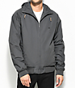 Volcom Hernan Insulated Grey Bomber Jacket