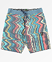Volcom Lofi Stoney Blue & Red Board Shorts