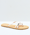 Volcom Lookout 2 White Sandals