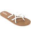 Volcom New School White Sandals