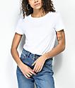 Volcom One Of Each White T-Shirt