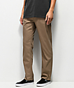 Volcom Solver Slub Grain jeans marrones