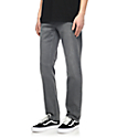Volcom Solver jeans en gris claro