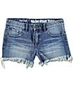Volcom Stoned Retro Blue Denim Shorts