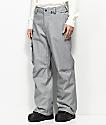 Volcom Ventral Heather Grey 10k Snowboard Pants