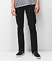 Volcom Vorta Black On Black Denim Jeans