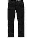 Volcom Vorta Black Rinse jeans ceñidos