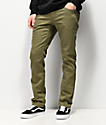 Volcom Vorta Vineyard Green Denim Jeans