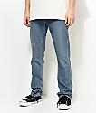 Volcom Vorta jeans adaptados en medio azul